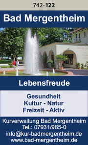 Bad Mergentheim – Lebensfreude