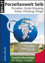 Porzellanwelt Selb – Porzellan, Outlet-Shopping, Kultur...