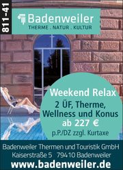 Badenweiler – Weekend Relax