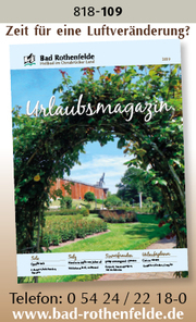 Bad Rothenfelde – Urlaubsmagazin