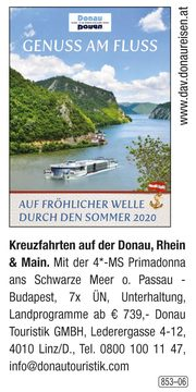 Donau Touristik GmbH – Genuss am Fluss