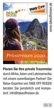 TAKE OFF REISEN – Privatreisen