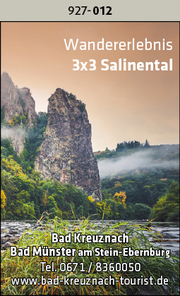 Bad Kreuznach / Bad Münster am Stein-Ebernburg – 3x3 Salinental