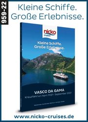 nicko cruises -  Vasco da Gama