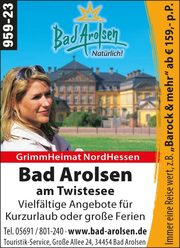 Bad Arolsen – Urlaub am Twistesee
