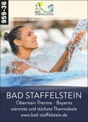 Bad Staffelstein – Bayerns wärmste & stärkste Thermalsole